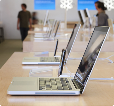 Apple in-store hardware