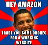 Obama to Amazon: Trade drones with Working Web site