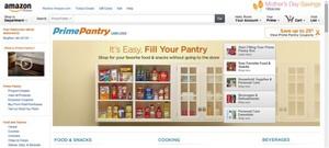 Amazon Prime Pantry website