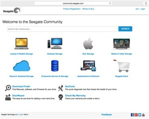 Seagate Community, by Salesforce