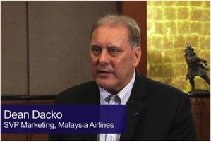 Dean Dacko, SVP Marketing, Malaysia Airlines