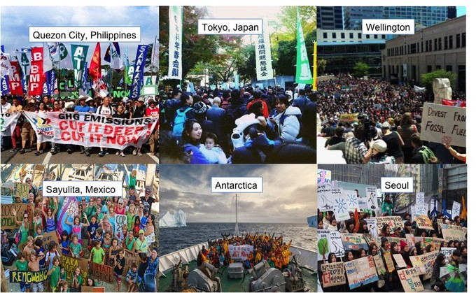 Climate Justice Demonstrations Worldwide on 11/29/15