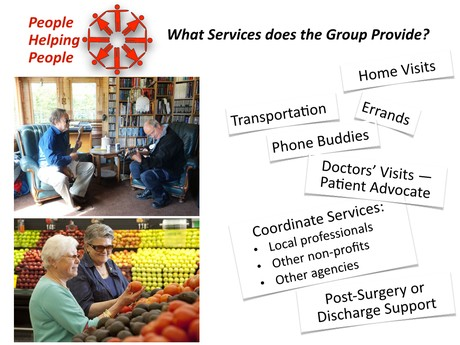 Services Provided by People Helping People