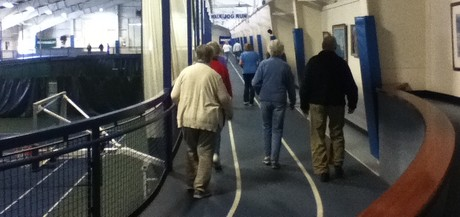 Seniors Walking at the Y