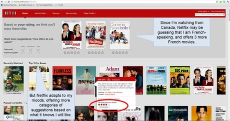 Netflix Personalizes Movie Recommendations