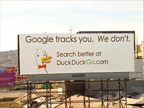 DuckDuckGo's Billboard