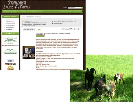 Standing Stone Farms DIY Kits and Herd of Nubian Goats
