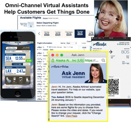 Alaska Airlines' Multi-Channel Virtual Assistant